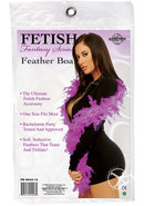 Fetish Fantasy Series Feather Boa Purple