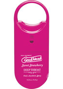 Goodhead Deep Throat To-go Oral Anesthetic Spray Strawberry...